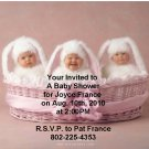 Anne Geddes baby shower invitations