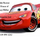 Disney Cars Baby shower invitations