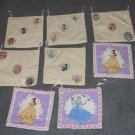 8 Disney Princess Wall Hangings