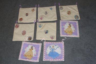 8 Disney Princess Wall Hangings