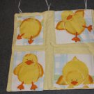 Yellow Duckies Wall Hangings