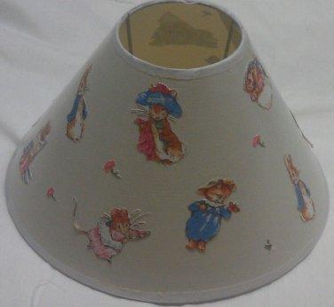 Beatrix potter peter rabbit lampshade