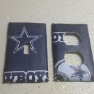 Dallas Cowboys Navy Set of 5 Light Switch Outlet Covers