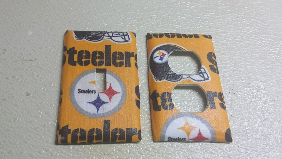 Pittsburgh Steelers Set of 5 Light Switch Outlet Covers