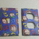 Curious George Set of 5 Light Switch Outlet Covers