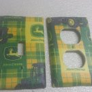 John Deere set of 5 Light Switch Outlet Covers