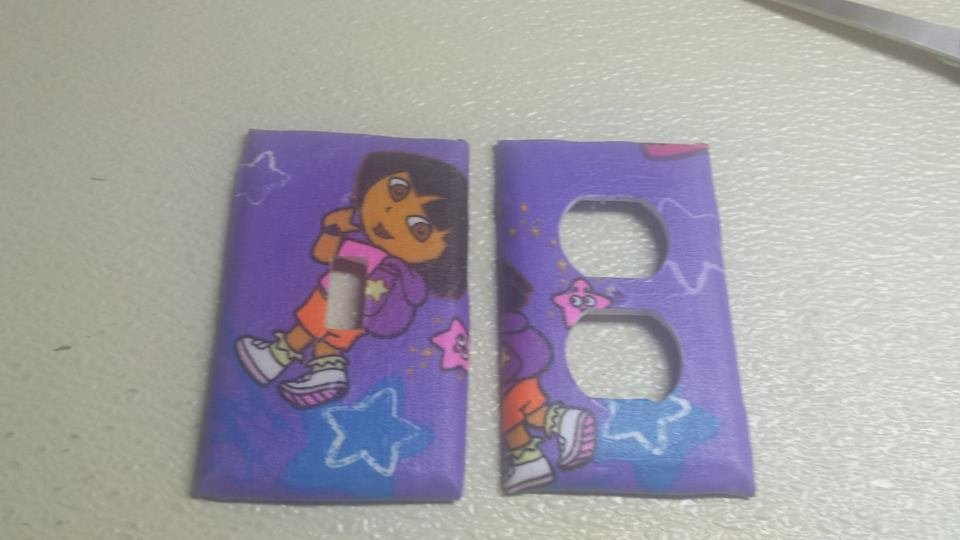 Dora the Explorer set of 5 Light Switch Outlet Covers