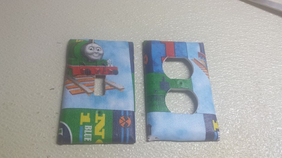 Thomas the Tank Engine set of 5 Light Switch Outlet Covers