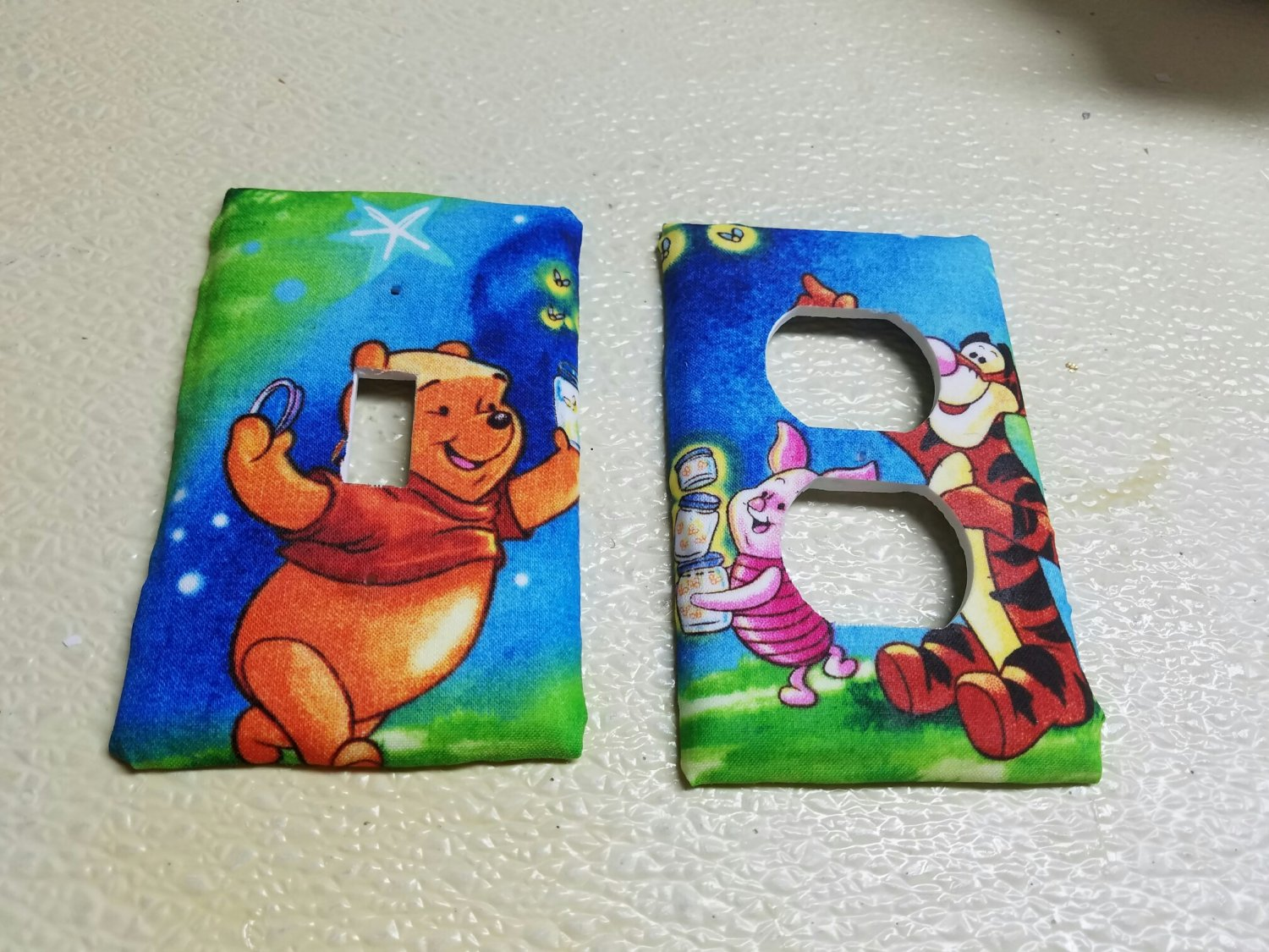 Winnie the Pooh set of 5 Light Switch Outlet Covers