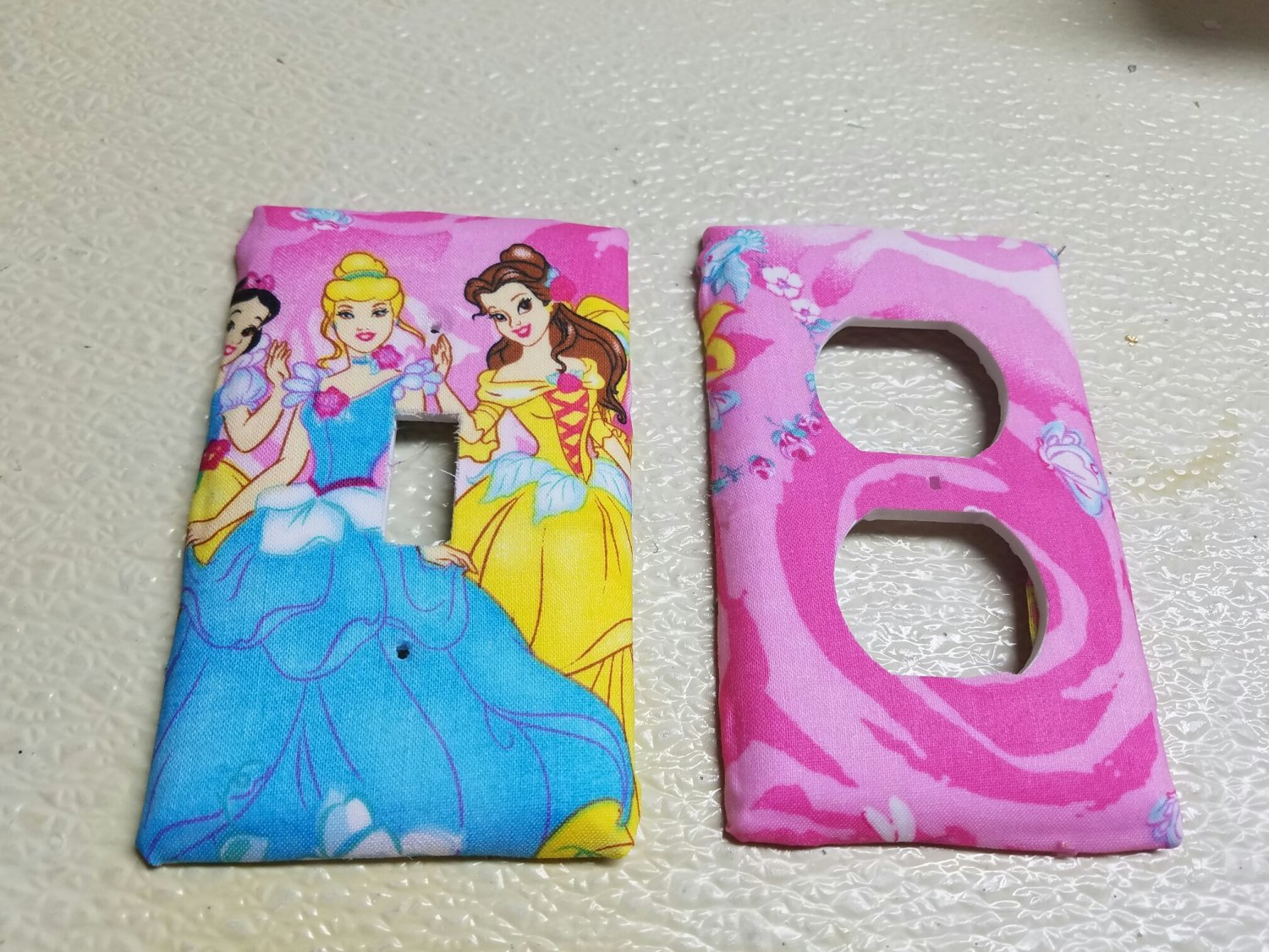 Disney Princess set of 5 Light Switch Outlet Covers