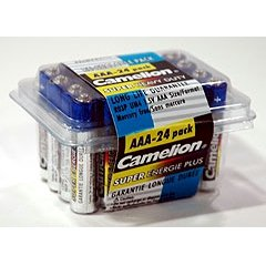 """AAA"" Super Heavy Duty Batteries - 24 Pack"