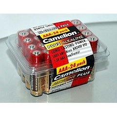 AAA Alkaline Long-Lasting Batteries - 24 Pack