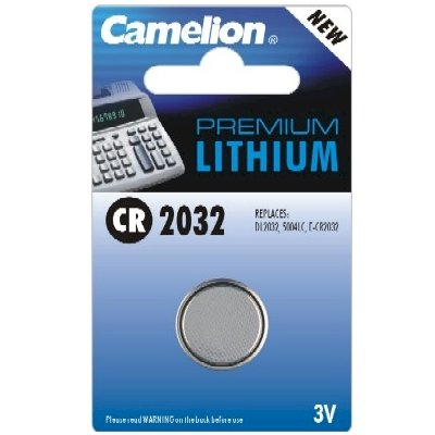 3 Volt Lithium Button Cell Battery - CR2032.