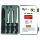 Maxam 4pc Fish Fillet Knife Set