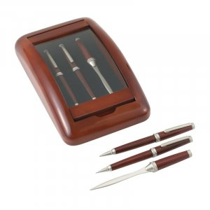 3pc Pen, Pencil and Letter Opener Set.