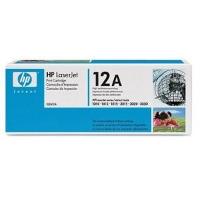 HP Q2612A Black Toner Cartridge for LaserJet 1012, 1018, 1020, 1022 - Retail