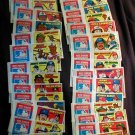 1979 Topps Test Issue Baseball Comic Wrapper Set