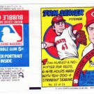 1979 Topps Test Issue Uncut Comic Baseball Wrapper Tom Seaver Mets/Reds