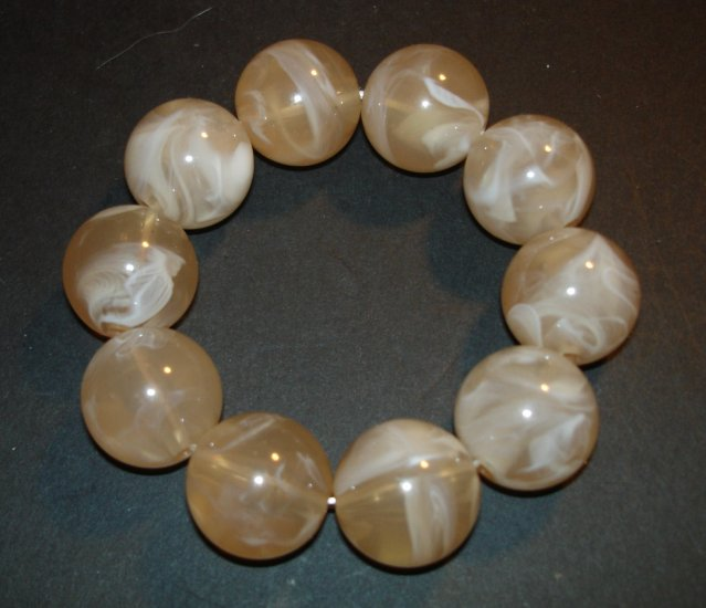 Cream Soda Beaded Bracelet