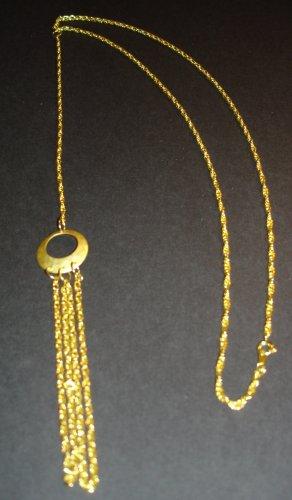 Golden Eclipse Necklace