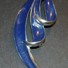 Blue Streams Brooch