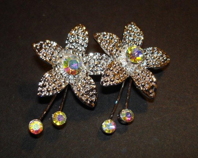 Flower Jewel Brooch