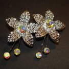Flower Jewel Brooch