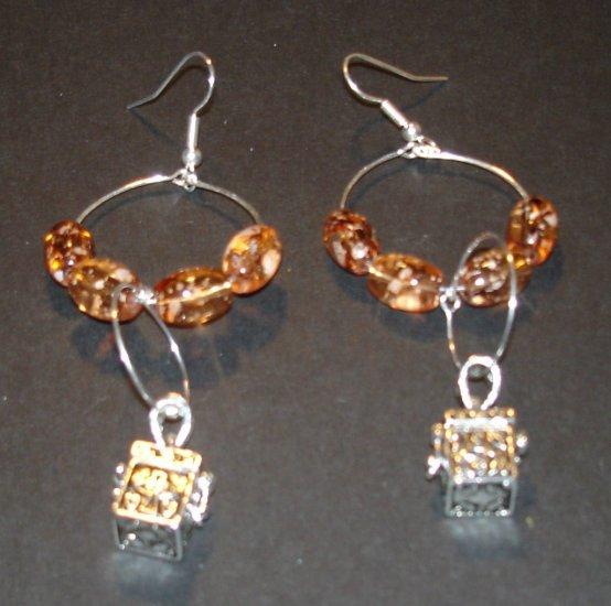 My Little Secret Dangle Earrings