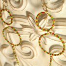 Irie Circle Dangle Earrings