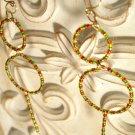 Irie Circle Dangle Earrings