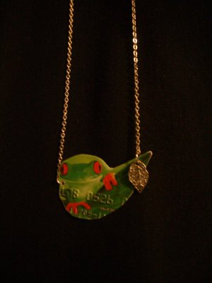 Froggie Credit Card Necklace