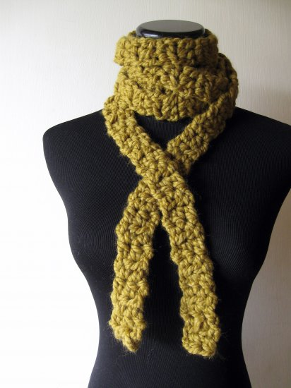 the lemongrass noodle scarf.