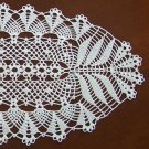 "21.5"" Woodland Symphony oval doily ** Custom orders only (not currently in stock)"