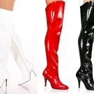 Vanity - Women's High Heel Thigh High Boots