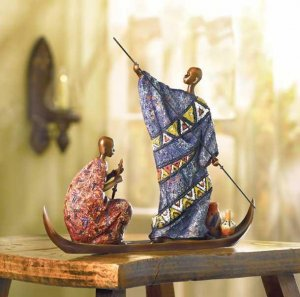 MASAI ON BOAT--Item #: 38189