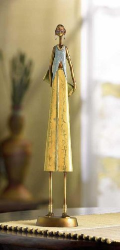 TRIBAL WOMAN FIGURINE--Item #: 37996
