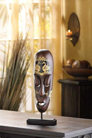 SMALL TRIBAL MASK--Item #: 39090