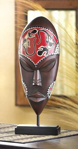 LIZARD TRIBAL MASK---Item #: 39091