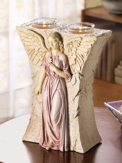 ANGEL CANDLEHOLDER---Item #: 37147