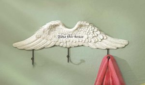 ANGEL WINGS WALL HOOK---Item #: 38288