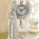 FAMILY GUARDIAN ANGEL CLOCK---Item #: 38026
