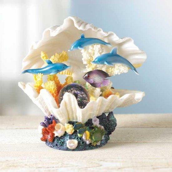 MAGICAL CLAM SHELL LIGHT---Item #: 34884