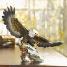 EAGLE`S SOFT LANDING IN SNOW---Item #: 30846