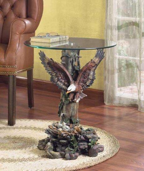DRAMATIC EAGLE TABLE---Item #: 33699