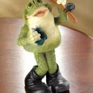 FROG W/FISHING POLE WOBBLE FIG---Item #: 37008