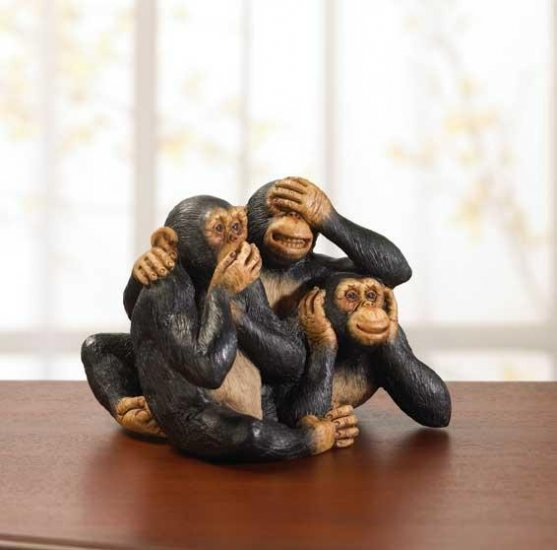 PLAYFUL INNOCENT MONKEYS---Item #: 34513