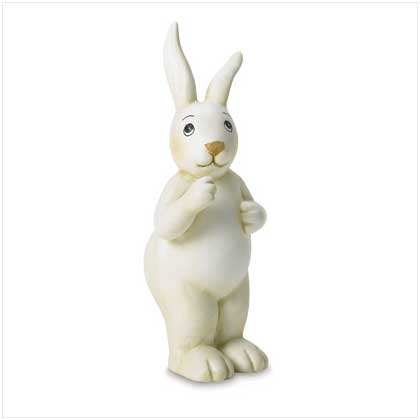 STANDING RABBIT FIGURINE---Item #: 38692
