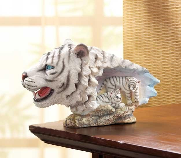 WHITE TIGER HEAD---Item #: 32294