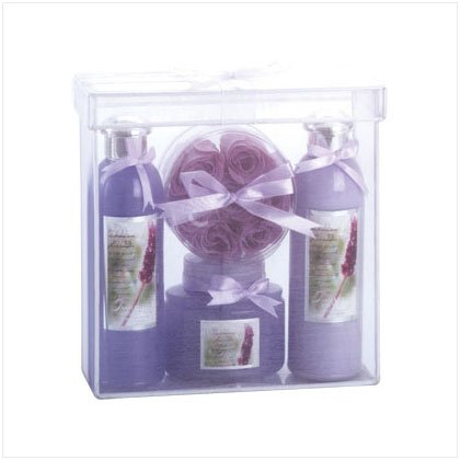 LAVENDER LUXURY BATH SET---Item #: 35036