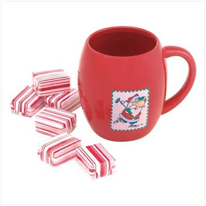 SANTA MUG BATH FIZZER SET---Item #: 38242